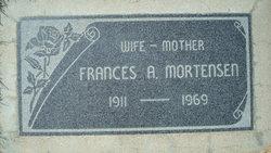 Frances A Mortensen