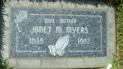 Janet M Myers