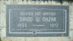 David W Nazar