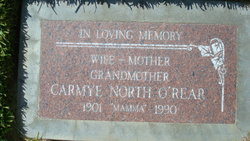 Carmye <I>North</I> O'Rear