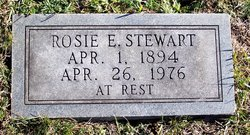 Rosie Elizabeth <I>Mock</I> Stewart