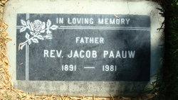 Rev Jacob Paauw