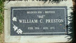 William C Preston