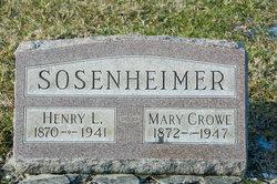 Mary V. <I>Crowe</I> Sosenheimer