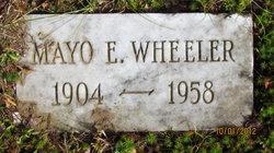 Mayo E Wheeler