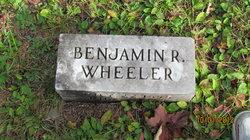 Benjamin R Wheeler