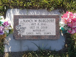 Nancy W Burgdorf