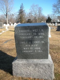 Emily D <I>Conklin</I> Wells