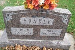 Jennie Marie <I>Fuchs</I> Yeakle