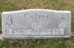Vernon P Culver