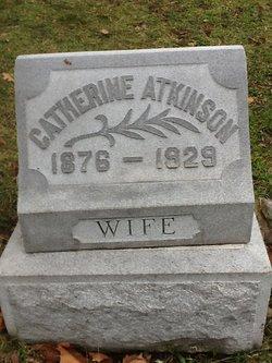 Catherine <I>Spinke</I> Atkinson