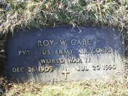 Roy W Cabe