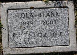 """Lola """"Little Lolie"""" Blank"""