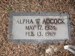 Alpha Wheeler Adcock, Sr
