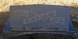 Myrtle Lee <I>Elledge</I> Blackshear