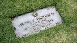 PFC Wayne E Thompson