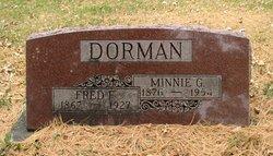 Minnie G <I>Maldzahn</I> Dorman