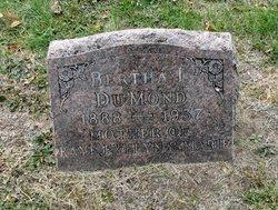 Bertha Lucille <I>McBride</I> DuMond