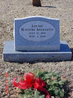Louise <I>Maestri</I> Angeletti