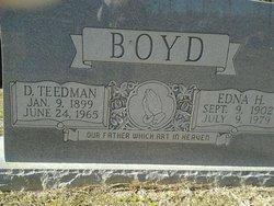 Edna M. <I>Hardee</I> Boyd