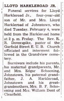 Lloyd Harkleroad, Jr