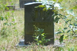 Bettie Elizabeth <I>Sessoms</I> Faircloth