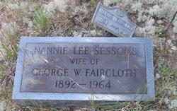 Nannie Lee <I>Sessoms</I> Faircloth