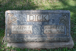 "Harriet B. ""Hattie"" <I>Stevens</I> Dick"