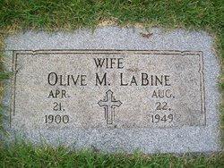 Olive Mary <I>McCabe</I> LaBine