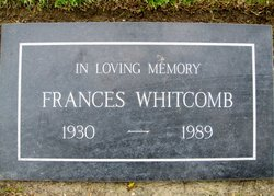 "Joan ""Frances"" <I>Selznick</I> Whitcomb"