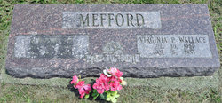 Virginia Pearl <I>Mefford</I> Wallace