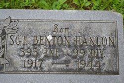 Sgt Benton Hanlon