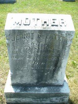 Jennie B <I>Fatkin</I> Shollenberger