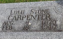 Lulu Angeline <I>Stone</I> Carpenter