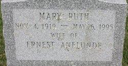 Mary Ruth <I>Beasley</I> Anelunde