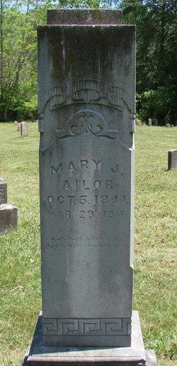 Mary Jane <I>Mitchell</I> Ailor