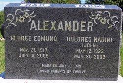 Dolores Nadine <I>John</I> Alexander