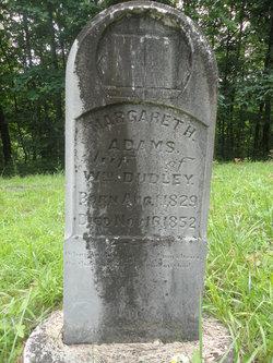 Margaret H. <I>Adams</I> Dudley