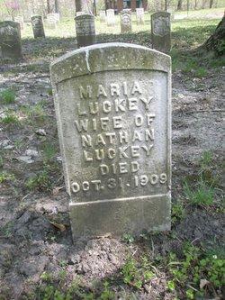 Maria F. <I>Gibson</I> Luckey