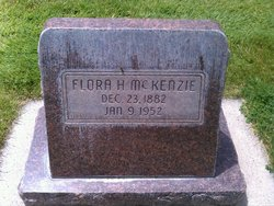 Flora Emily <I>Harward</I> McKenzie