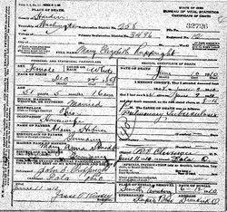 Mary Elizabeth <I>Hibner</I> Ruppright