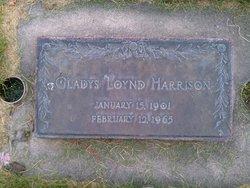 Gladys <I>Loynd</I> Harrison
