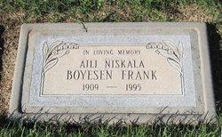 Aili Niskala <I>Boyesen</I> Frank