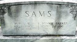 Bonnie E. <I>Parker</I> Sams