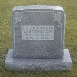 Edith Sophia Lauterbach