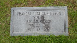 Lilly Frances <I>Justice</I> Glisson