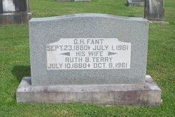 Ruth Bennett <I>Terry</I> Fant