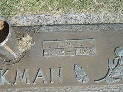 Elva L <I>Moore</I> Hickman