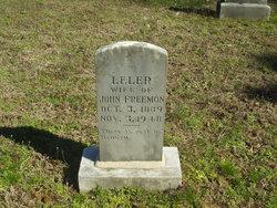 Leler Freemon 1889 1948 Find A Grave Memorial