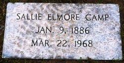 Sallie Elvira <I>Elmore</I> Camp